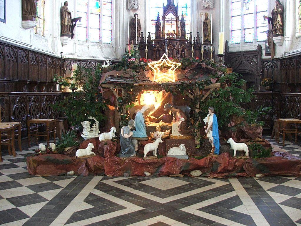 La crèche de l'église de Bomy 2